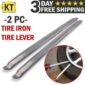 Motorcycle Tire Spoon Iron Lever Hand Tool Set Atv Scooter Tyre Changing Repair