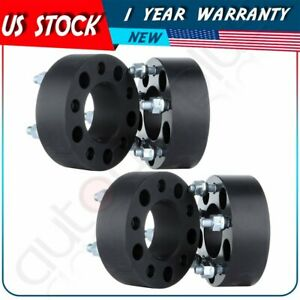 4pcs 1 5 Thick 5x4 5 1 2 X20 Studs Wheel Spacers For 2006 2012 Jeep Liberty