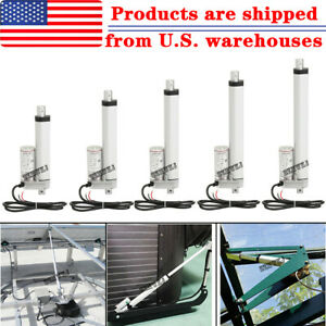 1500n Linear Actuator12v Electric Motor For Solar Track Auto Car Door Lifting Ig