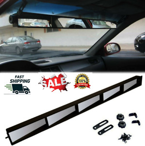 5 Panel Rear View Mirrors Car Suv Truck Van Panoramic Rally Rearview Mirror Set
