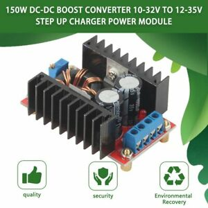150w Dc dc Boost Converter 10 32v To 12 35v Step Up Charger Power Module Lot Us