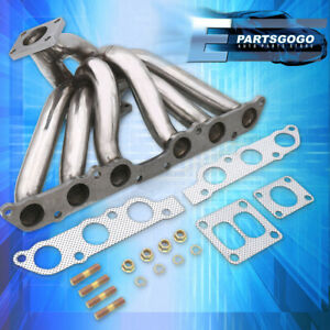 For 93 98 Supra 92 00 Sc300 93 05 Gs300 01 05 Is300 Turbo Steel Manifold