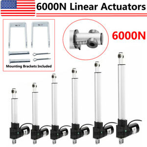 Electric 4 18 6000n Linear Actuator 1320lbs Max Lift Heavy Duty Dc12v Motor Ig