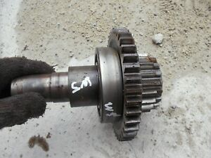 Farmall Sm Super M Tractor Ih Transmission Input Shaft Drive Gear Bearing