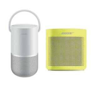 Bose Home SpeakerLuxe Silver WBose SoundLink Bluetooth Speaker IIYellow Citrn
