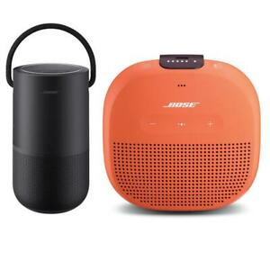 Bose Home SpeakerTriple Black WBose SoundLink Micro Bluetooth Speaker Orange