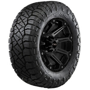 4 Lt285 55r22 Nitto Ridge Grappler 124q E 10 Ply Tires