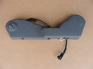 1997 Trans Am Front Seat Inflatable Lumbar Panel W Switches Lh 083016