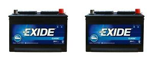 Exide Technologies 58rc Battery Classic Series Oe Replacement 2 Pack