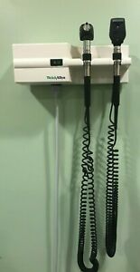 Welch Allyn Diagnostic Wall Set Otoscope Ophthalmoscope Sphygmomanometer