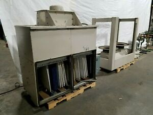 Aaf 7 1 2 Hp Dust Collector System 3500 Cfm Vacuum Air Filtration