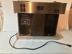 Bunn Vps Commercial 3 Pot Coffee Maker Brewer Pour O matic Untested