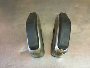 Fiat 124 Spider Early Front Bumper Ends Used F2491
