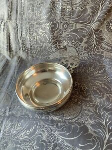 Large Heavy Gorham Porringer Sterling Bowl Dish Not Scrap