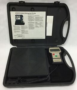Refrigerant Charging Or Recovery Scale 200 Max Capacity lb 5pwf9