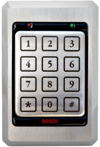 New Bosch Security D8229 Access Pin Keypad Stainless Steel Wiegand Security