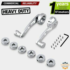 Chrome Aluminum Billet Car Manual Window Crank Handle For Ford Vw Gm Jeep Camaro