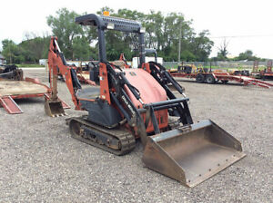 Ditch Witch Xt1600 Mini Excavator Skid Steer Backhoe Tool Carrier