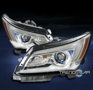 For 2014 2015 2016 Buick Lacrosse Factory Style Chrome Projector Headlights Lamp