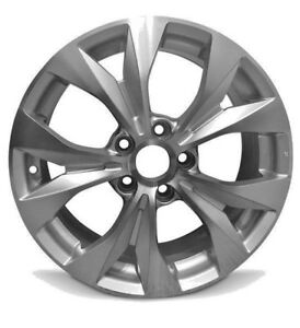 4 Aluminum Alloy Wheel Rims 17 Inch For 12 14 Honda Civic Silver 10 Spokes 5 Lug