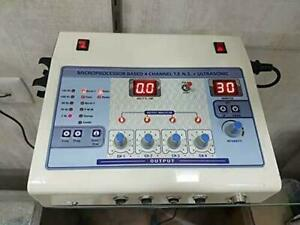 Physiotherapy 4 Channel Tens With Ultrasound Combination Therapy