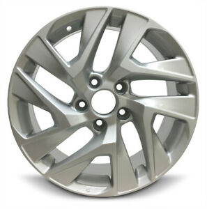 4 Aluminum Alloy Wheel Rim 17 Inch Fits 14 16 Honda Cr v 10 Spoke 5 Lug 114 3mm