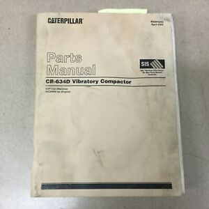 Cat Caterpillar Cb 634d Part Manual Book Catalog Vibratory Drum Compactor Sn Cdf