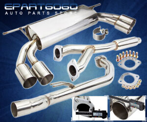For 10 16 Hyundai Genesis Coupe 3 8l Stainless Steel Catback Exhaust Muffler