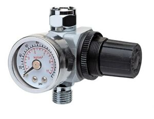 Eastwood Elite Stainless Steel Paint Gun Body Air Regulator For Cc500 And P500