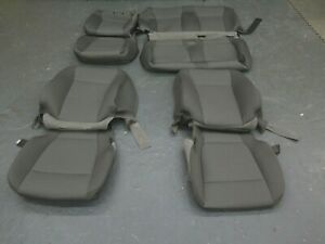 2015 2016 2017 2018 Ford F150 Xlt Truck Oem F R Seat Cover Set Med Earth Gray