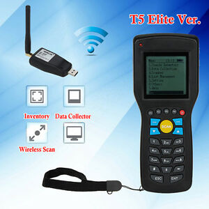 Portable Wireless 1d Barcode Scanner Reader Data Collector Inventory Management