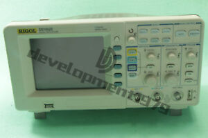 1pcs Rigol Digital Oscilloscope Ds1052e 50mhz 1gsa s 1mpts New