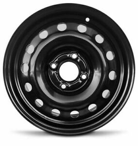 Road Ready 15 Inch New Steel Wheel Rim For Ford Fiesta 2011 2019 15x6 Inch 4 Lug
