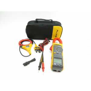 Fluke 381 Remote Display True rms Ac dc Clamp Multimeter With Iflex Probe