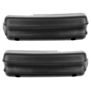 71 72 73 Ford Mustang Arm Rest Pad Black Pair