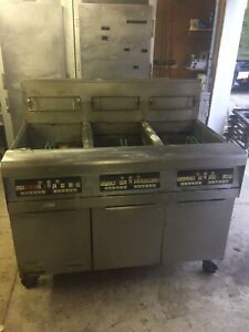 Frymaster Gas Fryer Model Fpph355csd Used Pick Up Only Best Offer