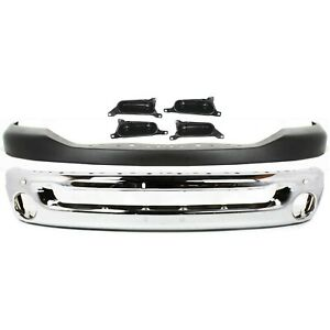 Bumper Cover Kit For 2006 2008 Dodge Ram 1500 For Models With Round Fog Lights