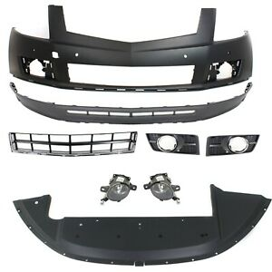New Kit Auto Body Repair Front For Cadillac Srx 2010 2012