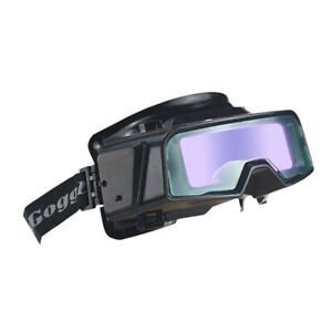 Welding Cutting Welders Safety Goggles Eye Protection Glasses Solar Powered