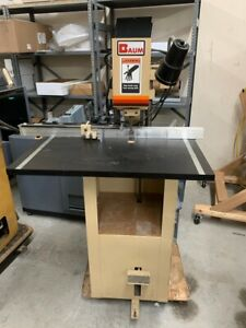 Baum Nd1f Single Spindle Paper Drill
