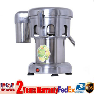 Electric Commercial Citrus Juicer Orange Fruit Lemon Squeezer Extractor Machine