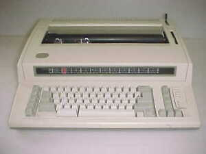 Ibm Personal Wheelwriter By Lexmark For Parts Or Repair