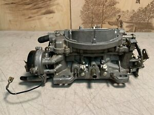 Carter Afb Carburetor 3c4 9636s With Electric Choke