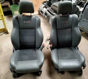 Jeep Grand Cherokee 2 Front Seats W O Air Bag Bucket Leather Electric Srt