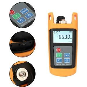 Handheld Optical Power Meter Tester Dual Wavelength 1310 1550nm Light Source Co