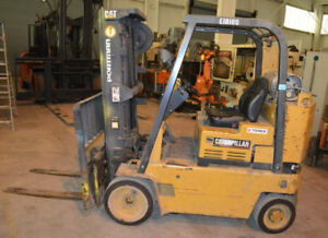 8000 Lb Caterpillar t80dstr Lp Fork lift Truck 28237