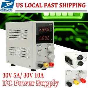 Dc Laboratory Power Supply Adjustable Charging 30v 5a 10a Voltage Regulator