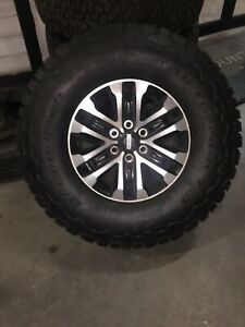 4 2019 Ford Raptor Takeoffs F150 17 Wheels And Tires 315 70r17