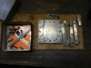 Cutoff Plate With Stops Machinist Jig Fixture Tooling From A Grinding Shop