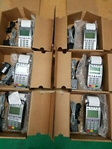 Verifone Vx520 Contactless Units refurbished unlocked used lot Of 6